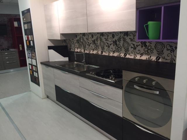 Arrex-2 Cucina Cedro Design Laminato Materico Neutra - Deper ...