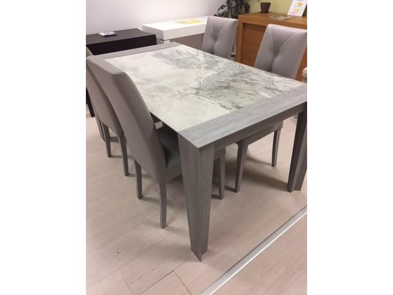 Tavolo in ceramica rettangolare Levante Target point a prezzo ...